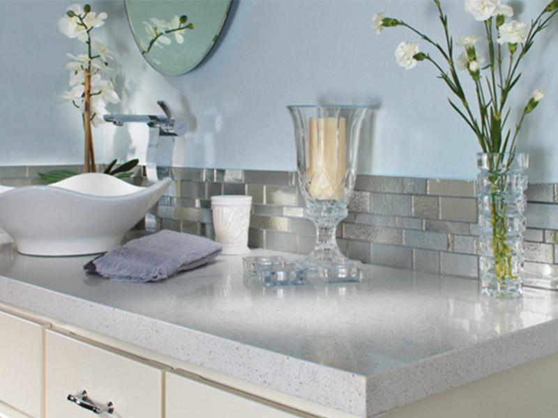 beauitful bathroom counter