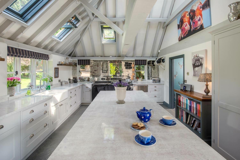 beautiful large country kitchen