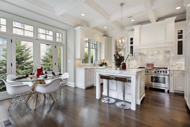 beautiful kitchen scene