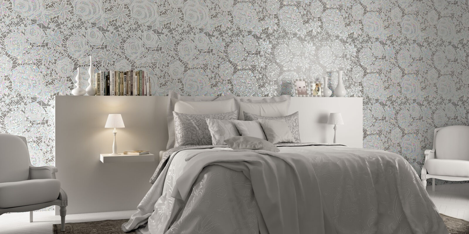 beautiful bedroom wall