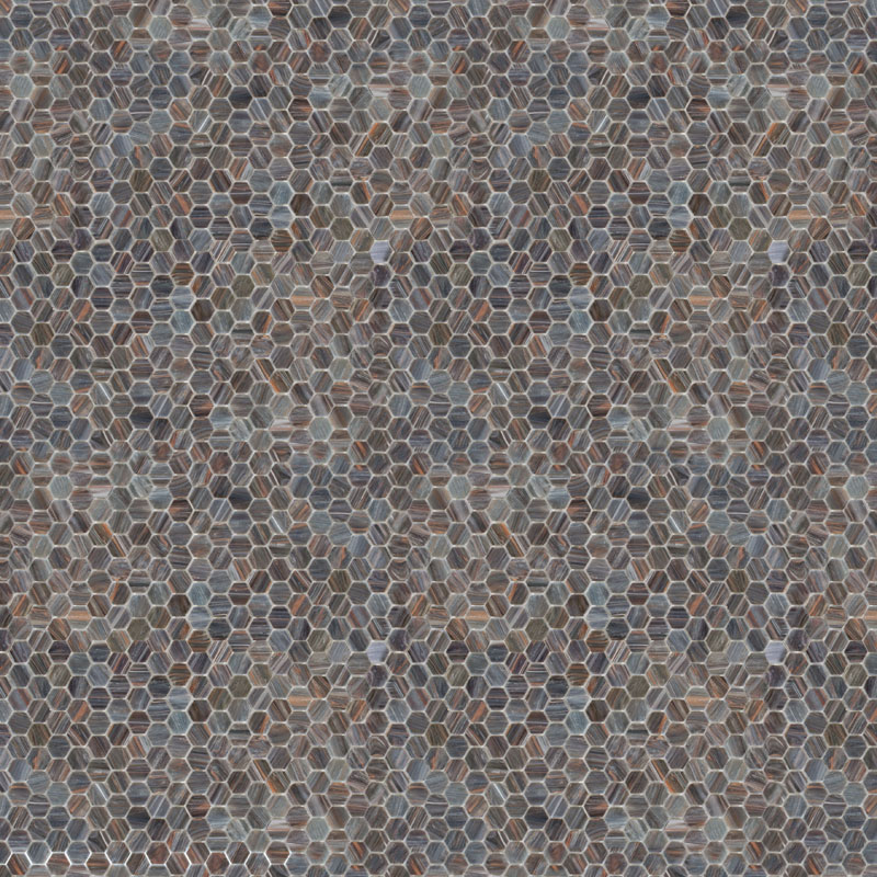 gray hexagon tile