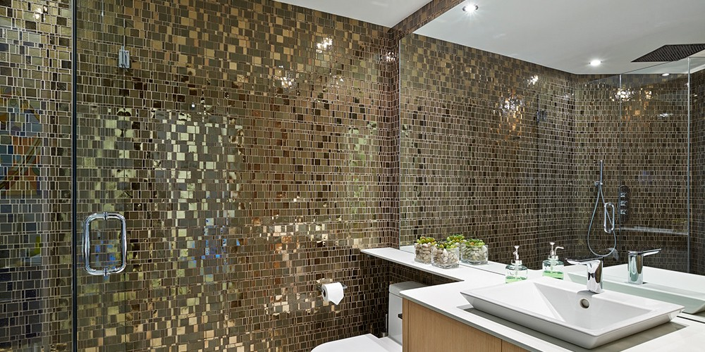 Floor to Ceiling Mosaic
