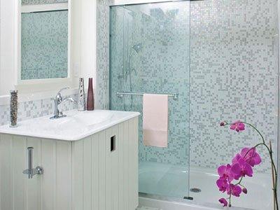 Bathroom Tub-to-Shower Conversion