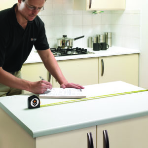 Measuring your countertop space