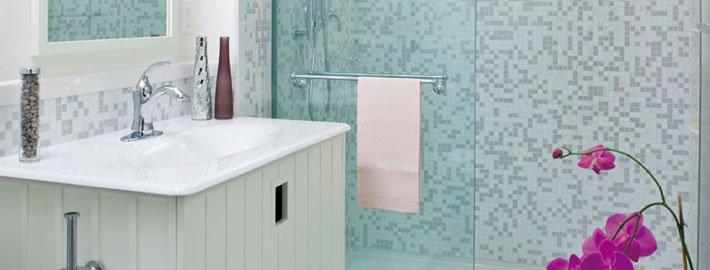 Tub to shower bathroom