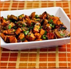Recipe of the Month: Thyme Roasted Sweet Potatoes