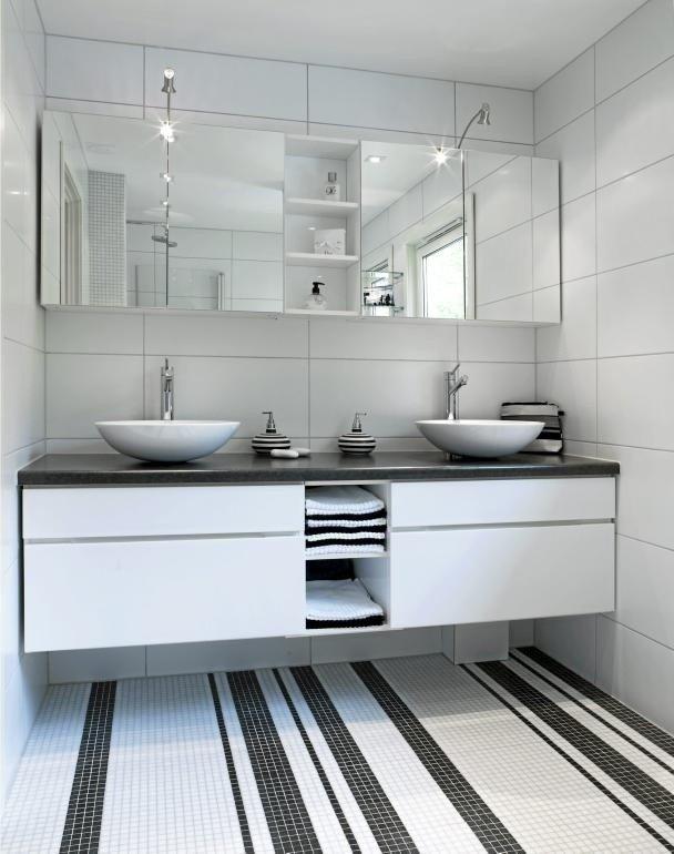 Bathroom Floor Mosaic Tile Accents