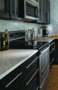 GT Black Kitchen Cabinets
