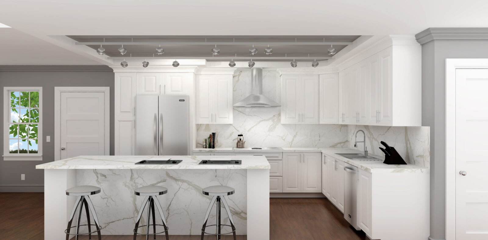 Design Tips for Your L-Shaped Kitchen - Granite Transformations