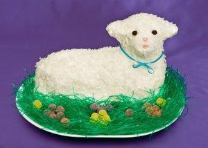Easter Lamb Cake Recipe from Granite Transformations.