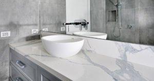 GT Statuario Marble Bathroom Vanity 2