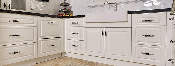 GT Kitchen white cabinets
