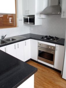 Small Kitcehn Remodeling by Granite Transformation