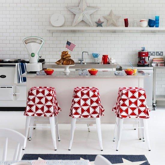 Geometric Patterns in Kitchen