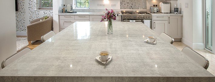 GT Kitchen Countertop Color Grey