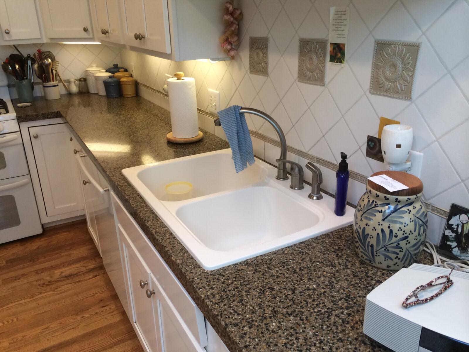 Overmount sink