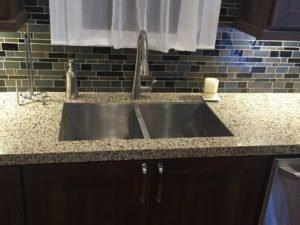 Stainless steel undermount sink
