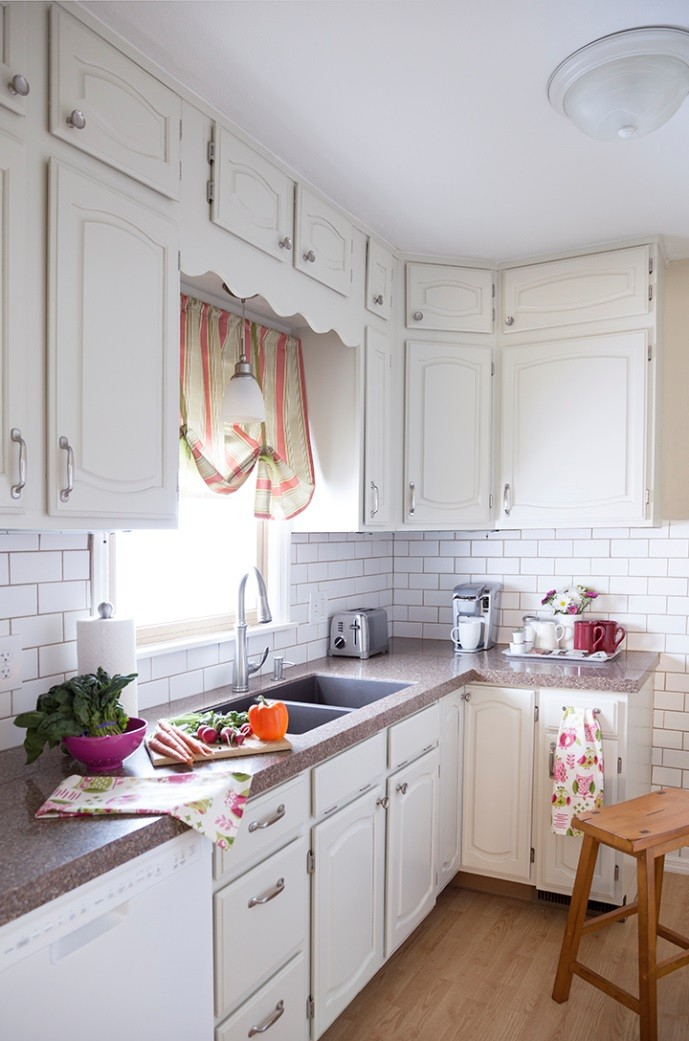 Kitchens are still the central point of the home, no matter the size.