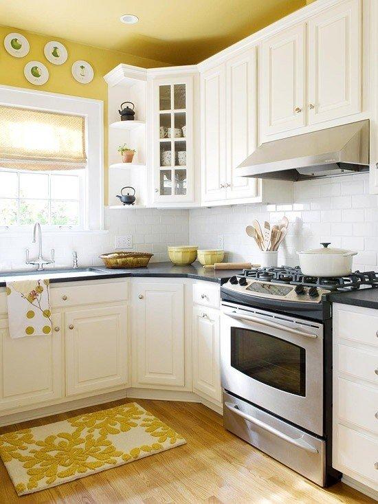 Kitchen Remodeling Ideas Bright Yellow Kitchen Granite Transformations