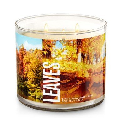Leaves Scented Candle