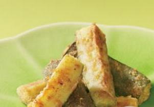 Healthy Oven Fried Zucchini Sticks