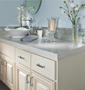Gray is one of the fastest growing bathroom color choices.