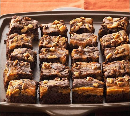 Pumkin brownies
