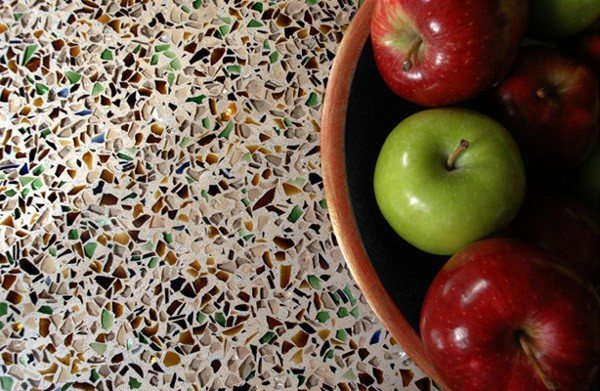 Recycled Glass Eco-Friendly Countertops