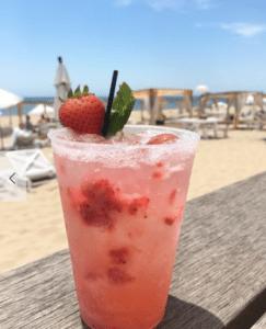 Summer Rose Wine Cocktail