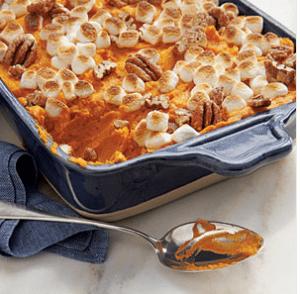 Sweet Potatoe-Carrot Casserole