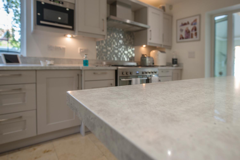 Quartz countertops by Granite Transformations