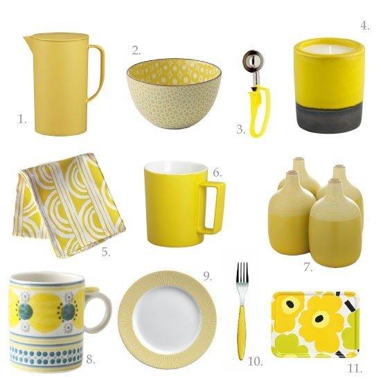 Kitchen Transformations: Kitchen Remodeling Ideas - Bright Yellow Kitchen