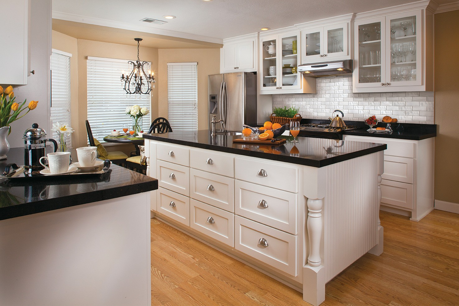 Black and White Kitchen Design Ideas | Granite ... on black and white wedding reception ideas, black and white printable periodic table, black and white traditional kitchens, black kitchen design, black and white kitchens hgtv, high gloss black kitchen ideas, black and white tattoo ideas, black and white galley kitchens, black luxury kitchen, black backsplash ideas, black kitchen cabinets ideas, black kitchen island, black and off white kitchens, black and white painting ideas, before and after kitchen ideas, black white red kitchen, black and white stuff, black and white nail ideas, black and white kitchens with yellow accents, black kitchen sink ideas,