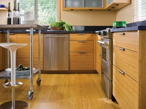 Eco-Friendly Kitchen Bamboo Furniture And Flooring