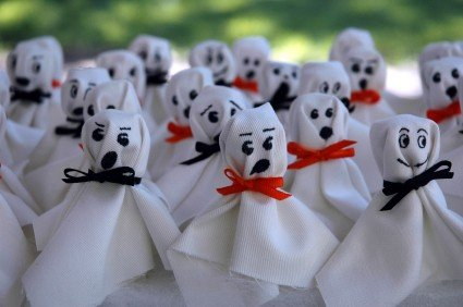 Group Of Ghosts