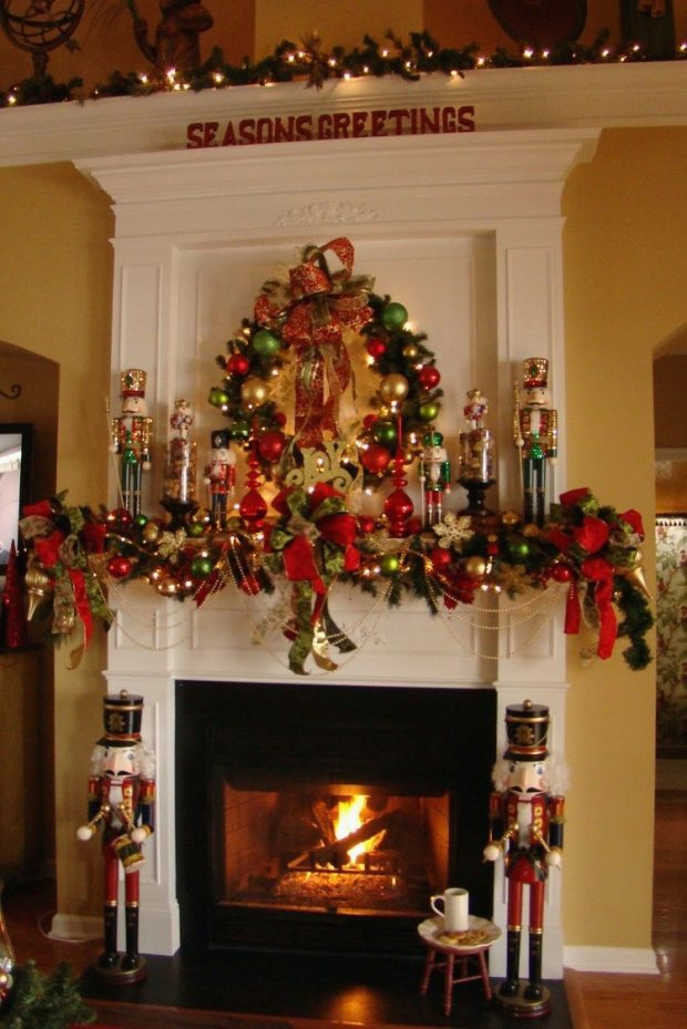 Decked Out Holiday Mantel Ideas | Granite Transformations Blog