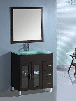 modern single sink vanity
