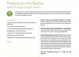 Recipe Of The Month: Prawns On The Barbie