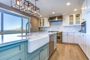 Generic Kitchen with Mismatched Metal Finishes