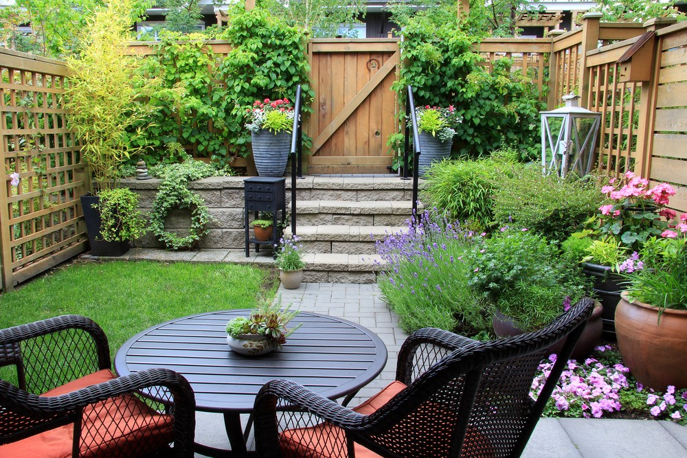 Small Patio Decorating Ideas Granite Transformations Blog