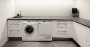GT Laundry Room Image Interior Work Flow