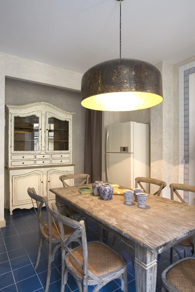 Oversized or Large Kitchen Lighting Creates Drama