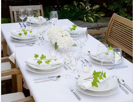 Show off your new kitchen with a summer dinner party