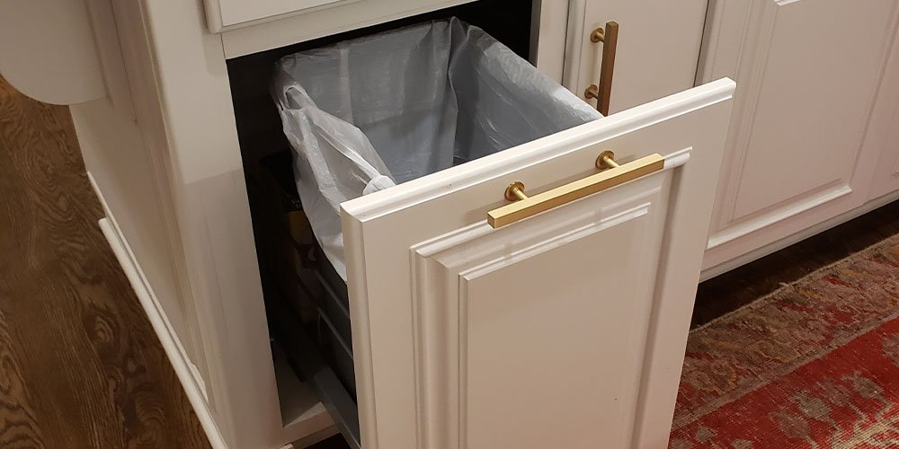 Pull-out Kitchen Trash Can After