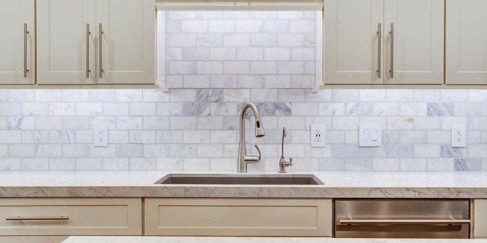 contemporary kitchen sink