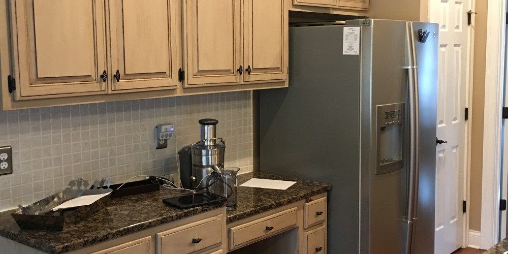 santa rosa kitchen before being remodeled featuring granite countertops