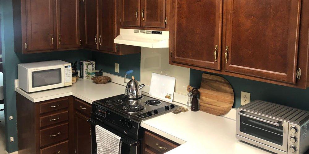 kitchen before kitchen transformation