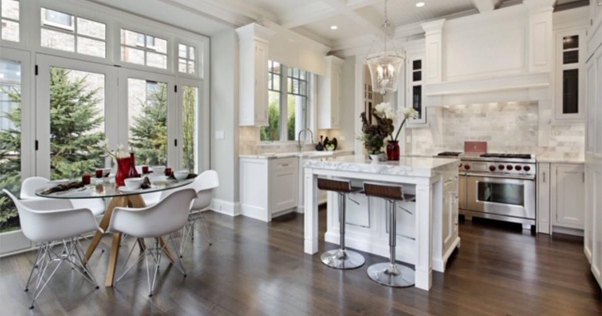 GT White Kitchen