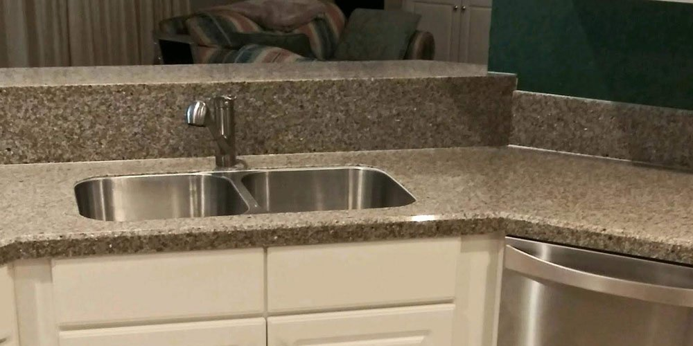 mother of pearl countertop