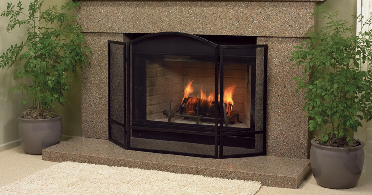 GT Granite Fireplace
